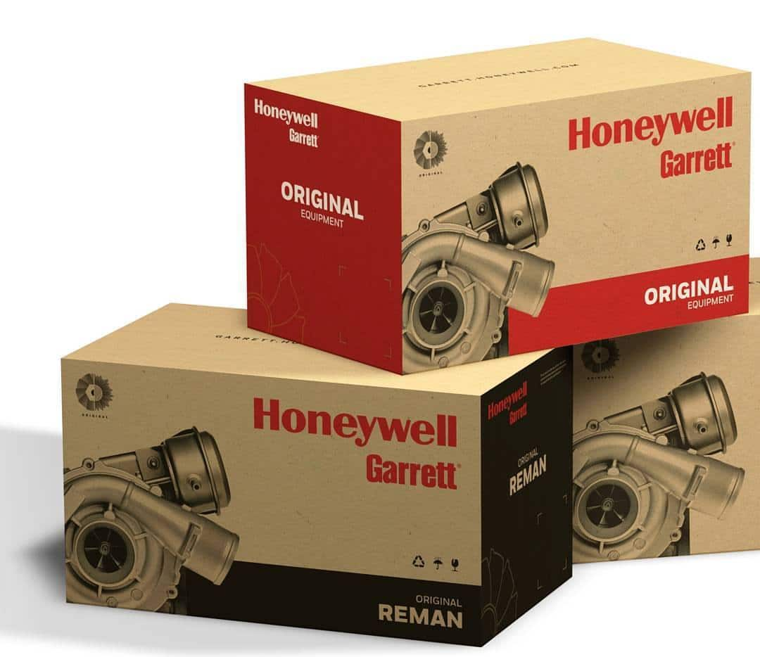 Turbodmychadla Honeywell-GARRETT